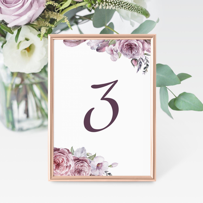 Bordnumre til bryllup