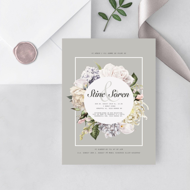 bryllupsinvitation pastil