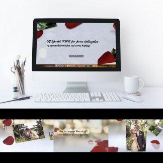 Videoinvitationer til bryllup