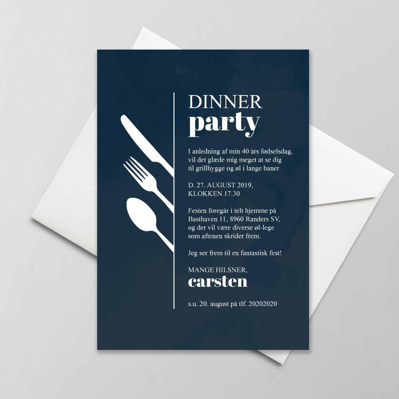 invitation til fest
