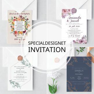 SPECIAL DESIGNET INVITATION