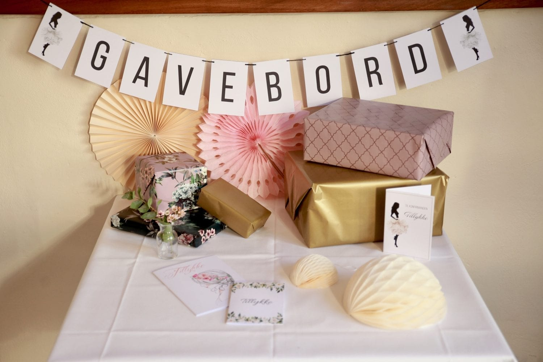 GAVEBORD BANNER