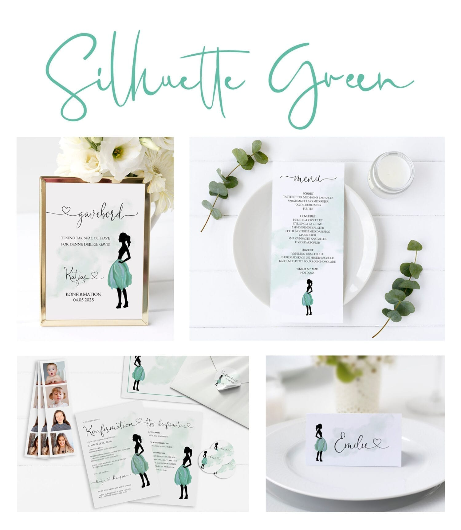 Silhuette Green