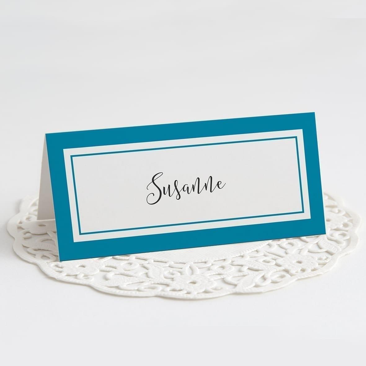 Bordkort barnedåb Tristan bordkort