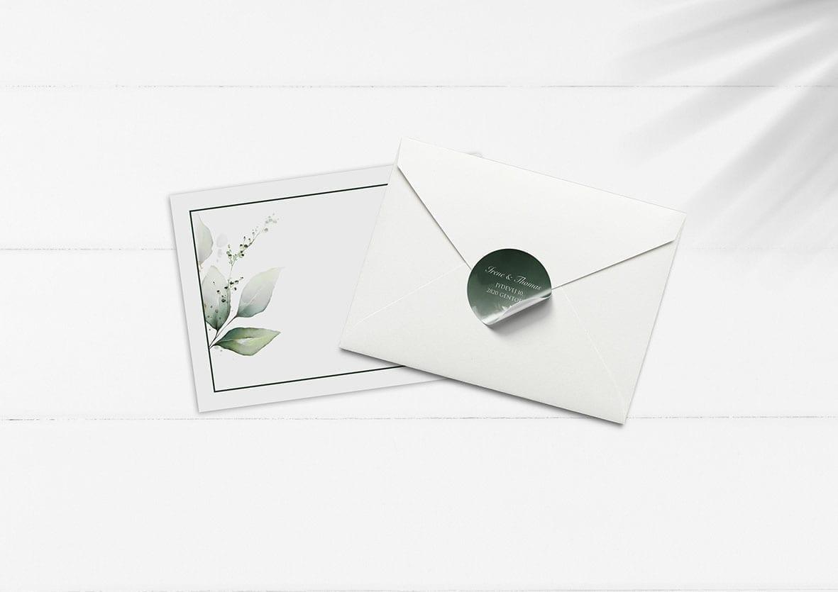 kuverter og kilstermærker