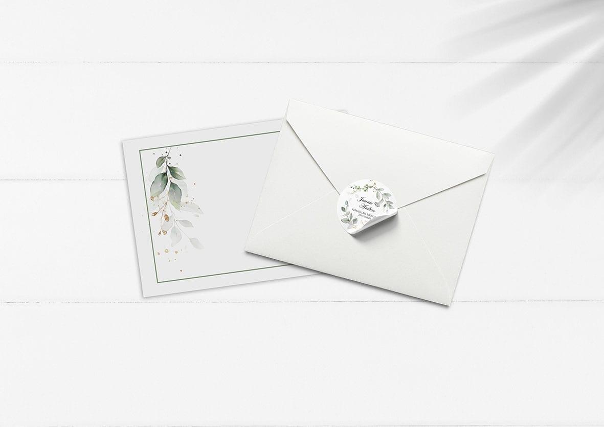 kuvert til invitation