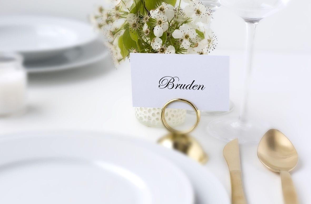 simpelt bordkort
