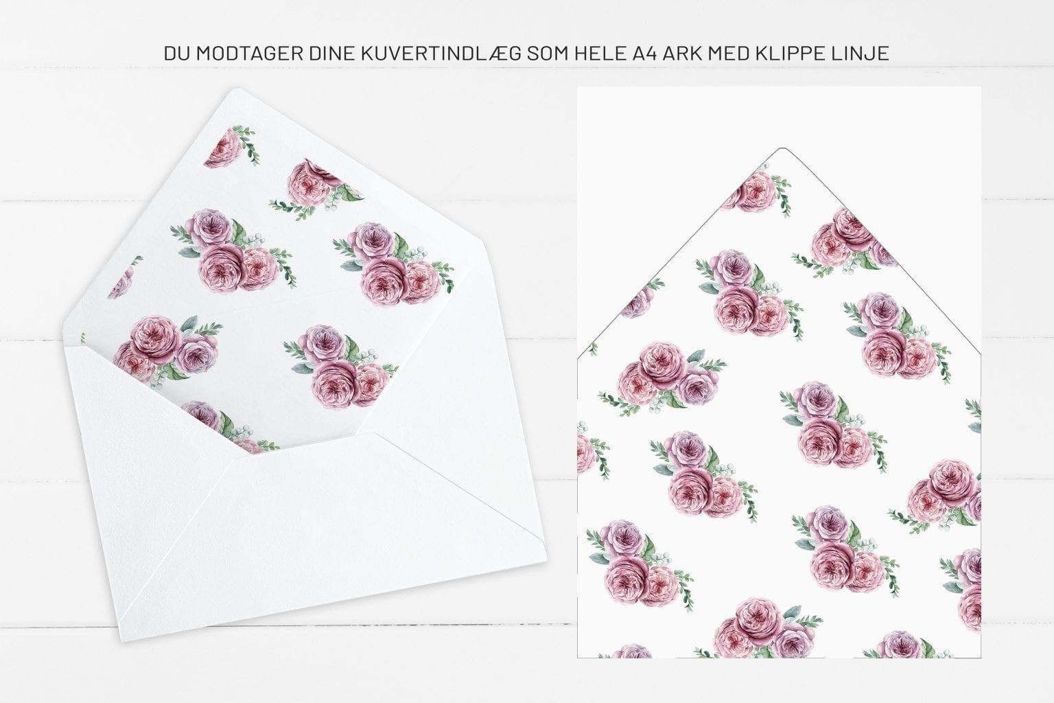 Boheme Dreams, kuvertindlæg, bryllup