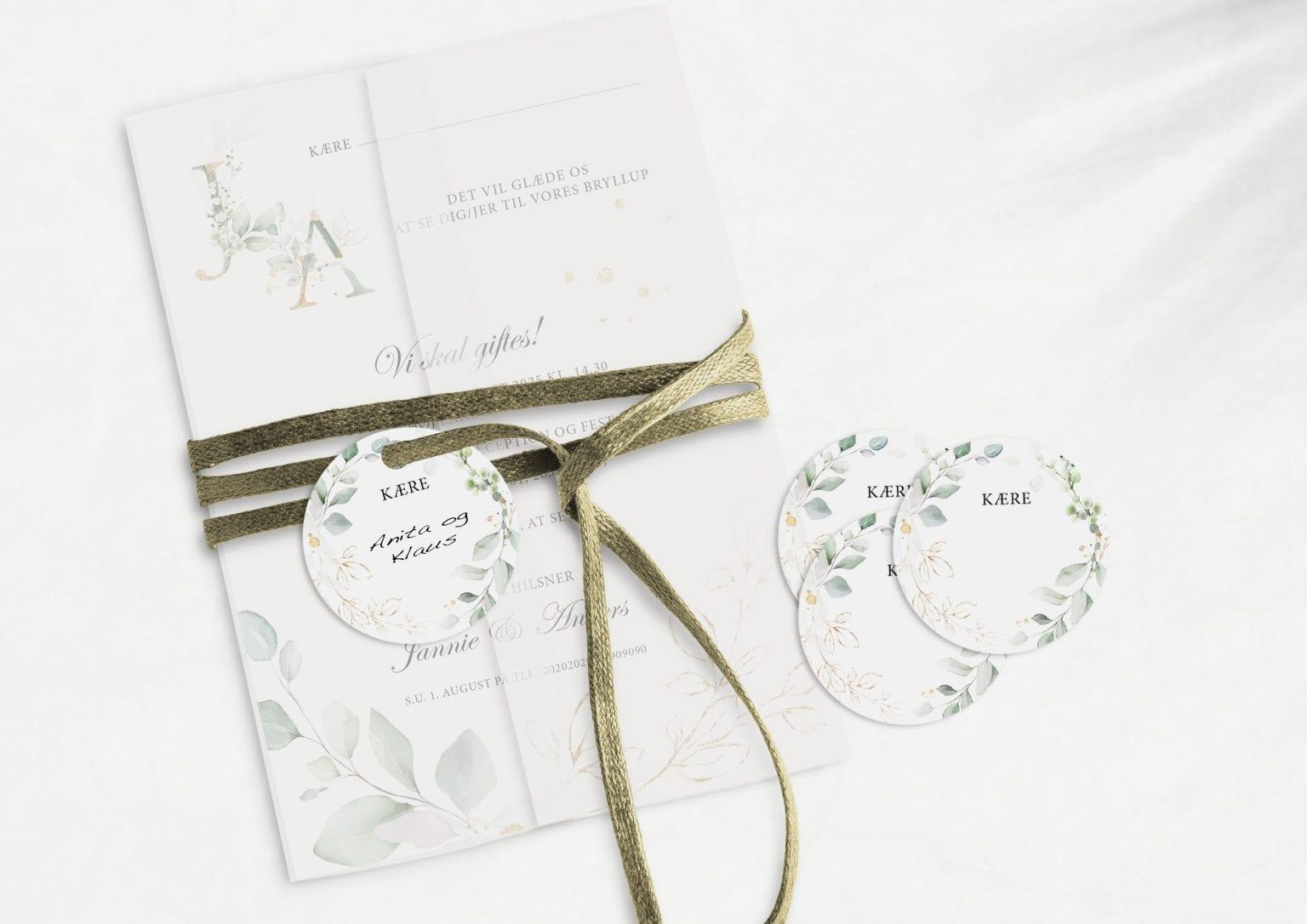 Gold Leaf, manillamærke, bryllup