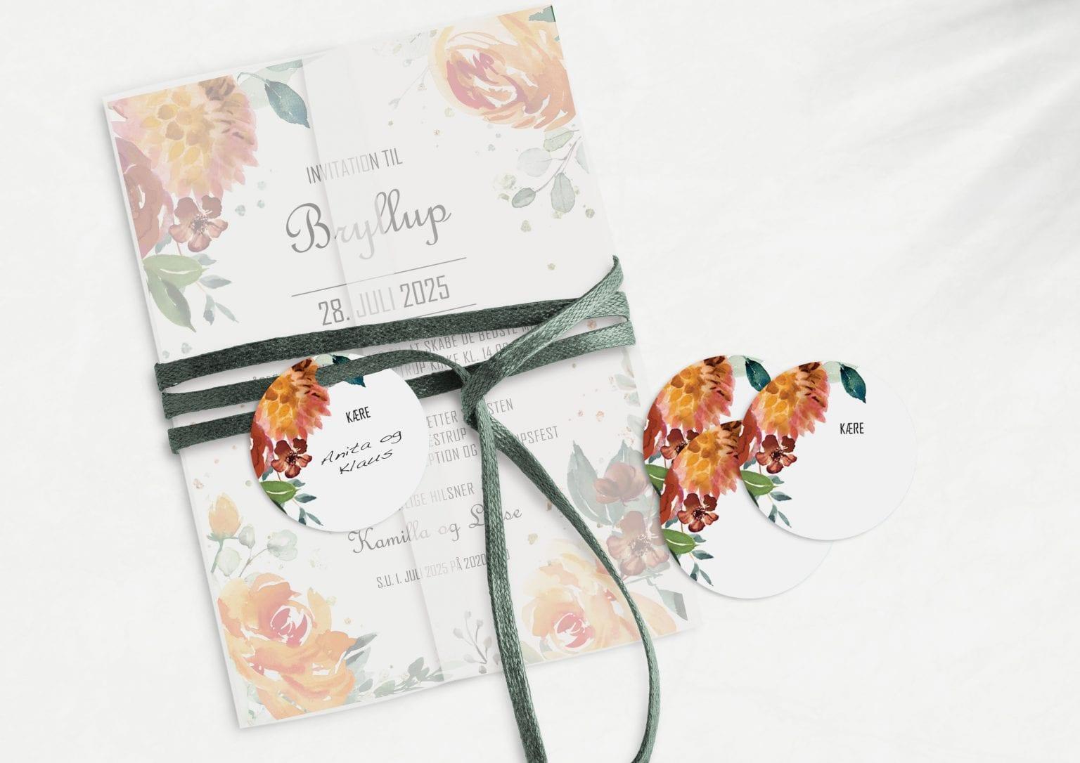 Golden Bouquet, manillamærke, bryllup