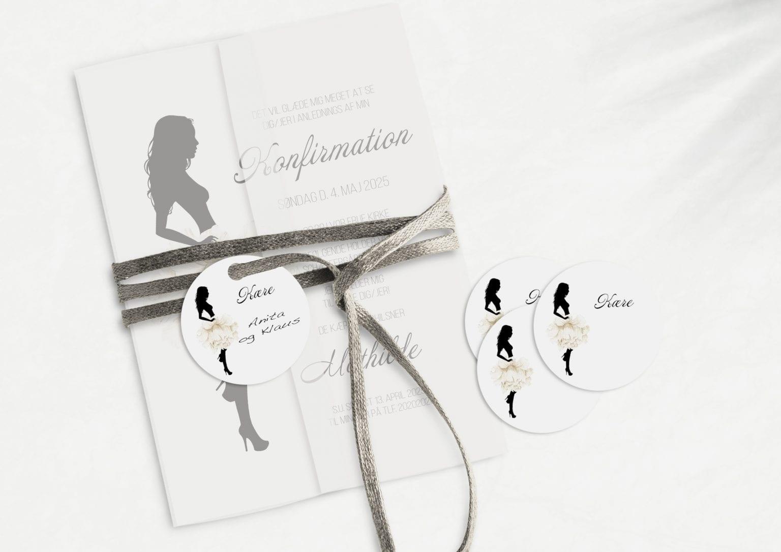 Silhuette White, konfirmation, manillamærke
