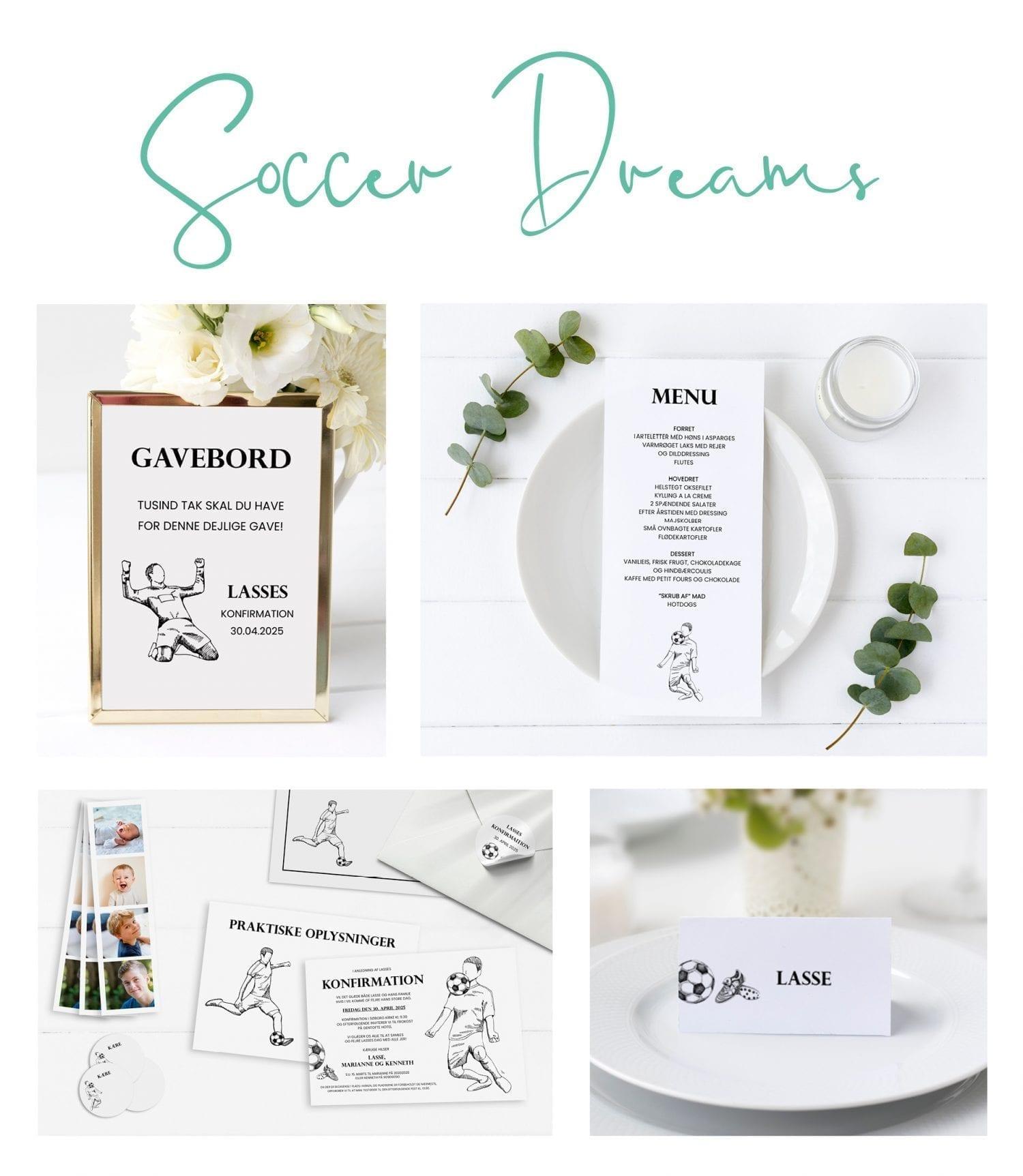 soccer dreams serie - Se hele udvalget